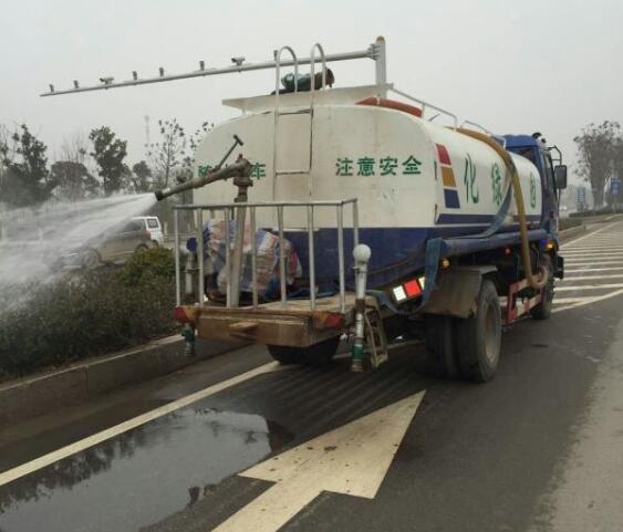绿化除尘,还原植物本色 - 好养护亳州市政绿化除尘项目纪实 - 华艺园林-好养护 - 好养护-中国安徽合肥园林绿化养护提供者